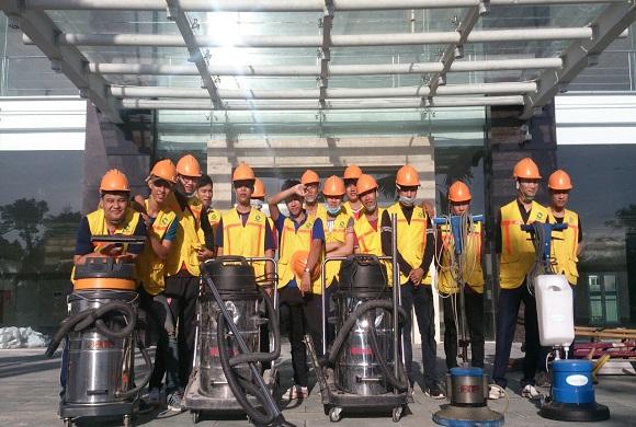 Dịch vụ tổng vệ sinh công trình cuối năm