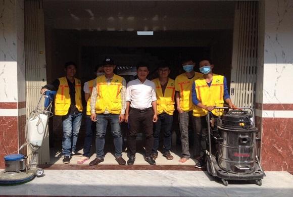 Dịch vụ vệ sinh công nghiệp Cần Thơ