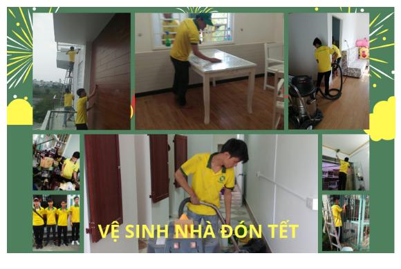 Dịch vụ vệ sinh nhà cửa đón tết 2019